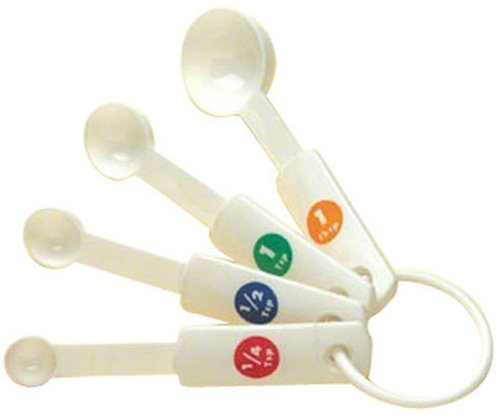 American Metalcraft (MSP514) Plastic Measuring Spoons (Set of 4)