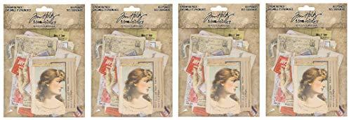 Tim Holtz Advantus TH93958 Ephemera Pack Keepsakes Printed Memorabilia Multicolor