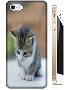 The Bany Cat looking on the floor Play with itself lovely cell phone case for Apple Accessories iPhone 4/4S