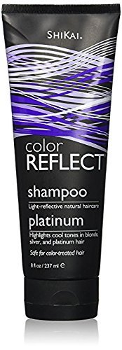 Shikai Color Reflect Platinum Shampoo, 8 Ounce - Highlights Shampoo Red