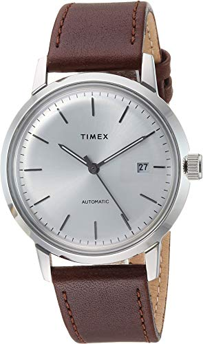 Timex Men's Marlin Automatic Brown/Silver One Size
