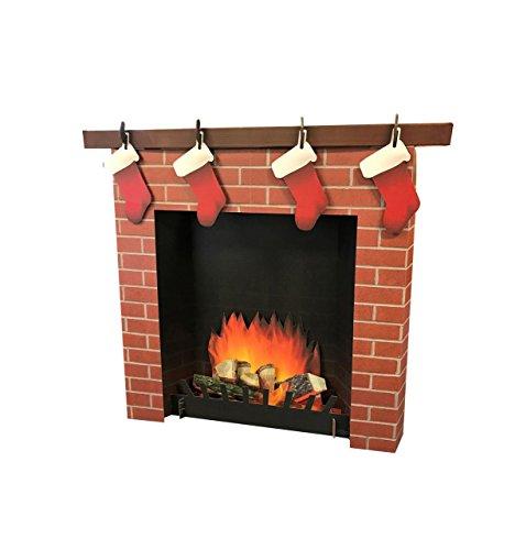 fireplace cardboard - 3