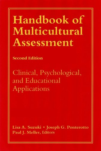 Handbook Of Multicultural Assessment  Clinical Psychological And Educational Applications  English Edition