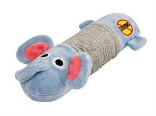 Petstages 632 Stuffing Free Big Squeak Elephant Dog Squeak (Big Squeak Elephant)