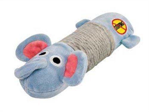 Petstages Stuffing Free Big Squeak Elephant ()