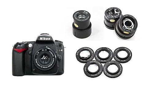 Kit Completo Digital Holga para Camara Nikon: Amazon.es: Electrónica