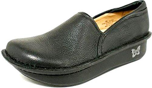 Alegria ''Debra'' Slip On Shoe- Black Nappa- 38 W EU (8-8.5 W US)