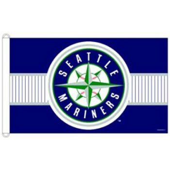 Seattle Mariners Hanging (Seattle Mariners 3'x5' Flag)