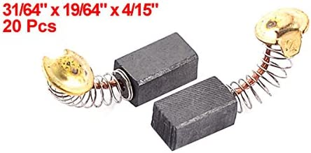 Ltd 10 Pcs Dragonmarts Co Uxcell Repair Components Electric Motor Carbon Brushes for Hitachi // Uxcell a13112800ux0873