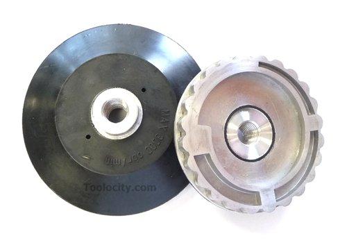 Toolocity 4BHS040 4-Inch Snail Lock Adapter Aluminum with 5/8-11 Thread