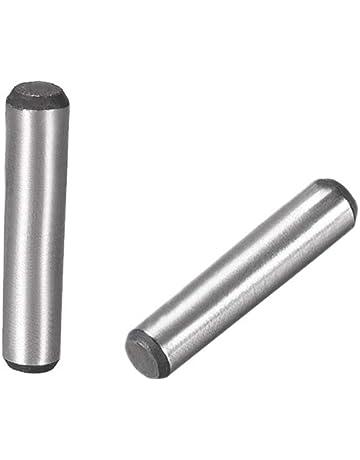 10/pezzi perni filettati M8/x 20/con esagono incassato e estremit/à DIN 913/Acciaio Inox A2