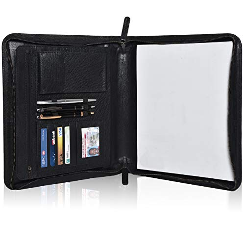 Leather Business Padfolio Portfolio Men