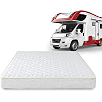 Zinus Hybrid Spring 8 Inch RV / Camper / Trailer / Truck Mattress, Short Queen