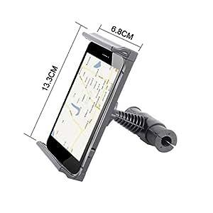 Soporte Holder para la longitud entre 12.5cm a 17cm innovateur Universal–Estructura reposacabezas de coche comprimido de iMount