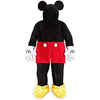 disney store deluxe mickey mouse plush halloween costume kids size s small 5 6 5t