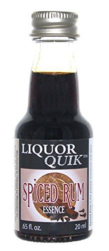 Liquor Quik Natural Rum Essence, 20 mL (Spiced Rum)