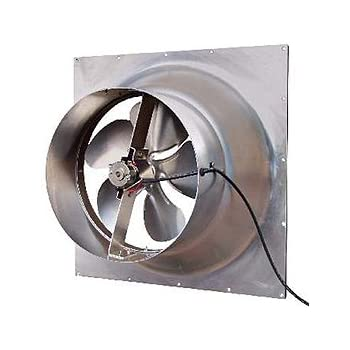 Solar Powered Attic Fan 24 Watt Gable Exhaust Vent