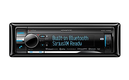 Kenwood KDC-X898 Excelon In-Dash CD Receiver with Built-In B