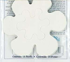 safety applique stickers safe t shapes white daisy safety appliques no slip bath. Black Bedroom Furniture Sets. Home Design Ideas
