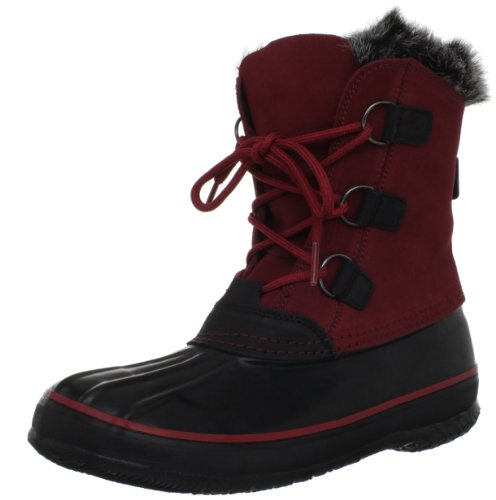 Kamik Womens Temptress Snow Boot Red