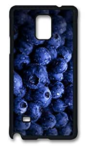 MOKSHOP Adorable blueberry Hard Case Protective Shell Cell Phone Cover For Samsung Galaxy Note 4 - PCB