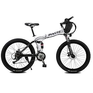 41Z2RZPuI8L. SS300 JXH Mountain Bike Elettrico con Un Sacchetto, 250W 26 '' Bicicletta elettrica con Rimovibile 36V 12 AH agli ioni di…