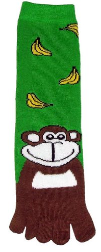 Gift Monkey Unique (Monkey Toe Socks New Gift Fun Unique Cute)