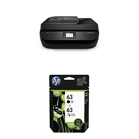 HP Officejet 4650 Wireless All-in-One Inkjet Printer with Ink Bundle