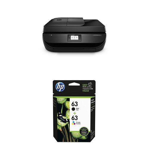HP Officejet 4650 Wireless All-in-One Inkjet Printer with Ink Bundle
