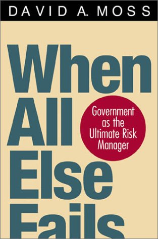 When All Else Fails: Government as the Ultimate Risk Manager