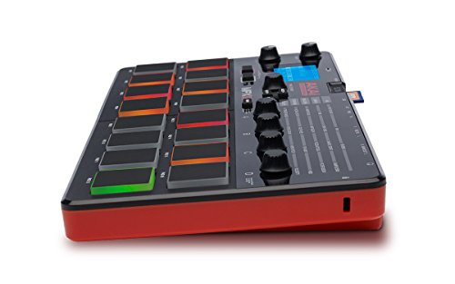 akai professional mpx16 portable finger drumming sample pad controller with 16 performance. Black Bedroom Furniture Sets. Home Design Ideas