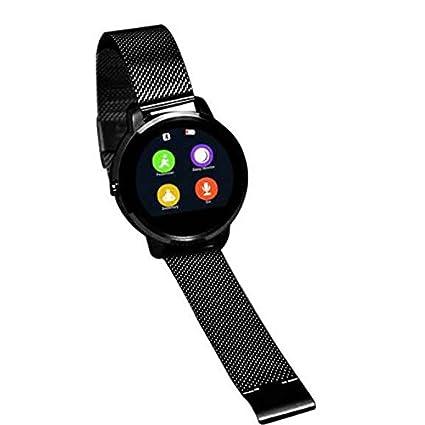 multi-languages reloj inteligente reloj Sport para mujer para hombre negro Sport, impermeable, diario, vista de alta definición ...