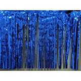 Foil Skirting Royal Blue