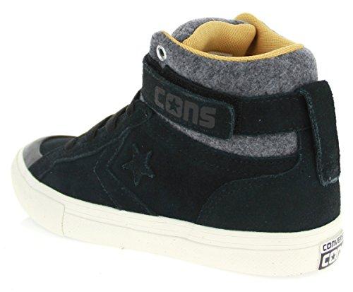 Converse 654371c Pro Blaze Strap Hi - Zapatillas de Piel para hombre negro