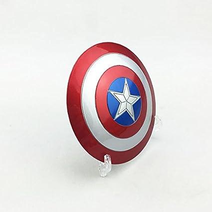Amazon.com: 1/6 escudo Capitán América hebilla de material ...