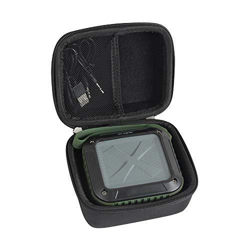Hermitshell Hard Case Storage Bag Fits Milemont/AYL/ShackJoy/Infinilla Wireless Bluetooth Speakers (Black)