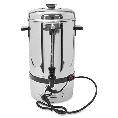 Coffee Pro 36-Cup Commercial Coffee Urn - 36 Cup - Stainless Steel