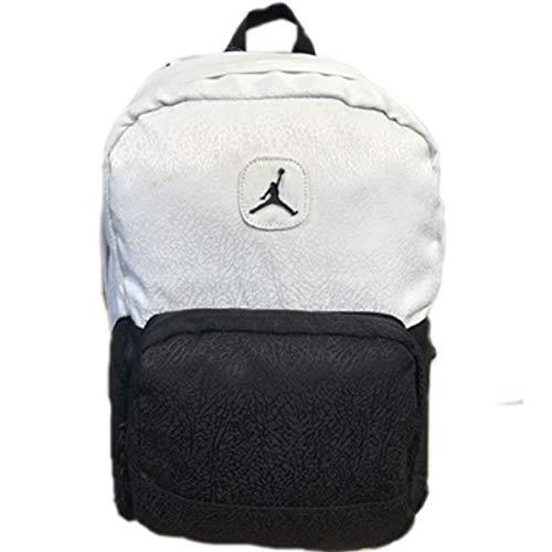 ジャンプマン バックパック ジョーダン Jordan ブラック 黒 ホワイト 白 ナイキ バスケ ストリート リュック 鞄 bp120 ワンサイズ  B07NTYFZ6J