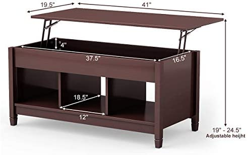 home, kitchen, furniture, living room furniture, tables,  coffee tables 1 discount TANGKULA Coffee Table Lift Top Wood Home Living deals