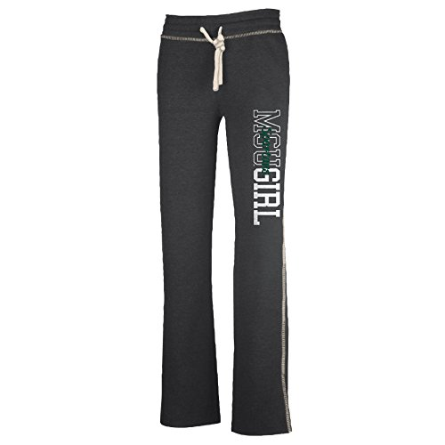 Michigan State Spartans Lounge Pant (NCAA Michigan State Spartans W Lounger Pant, Charcoal Heather, XX-Large)