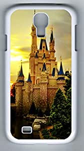 iCustomonline Castle Protective Back Cover Case For Samsung Galaxy S4 I9500 White