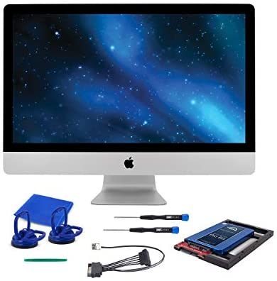 """OWC 1TB SSD Upgrade Bundle For 2011 iMacs, OWC Mercury Electra 1.0TB 6G SSD, AdaptaDrive 2.5"""" to three.5"""" Drive Converter Bracket, In-line Digital Thermal Sensor Cable, Installation equipment, OWCKITIM11HE1TB"""