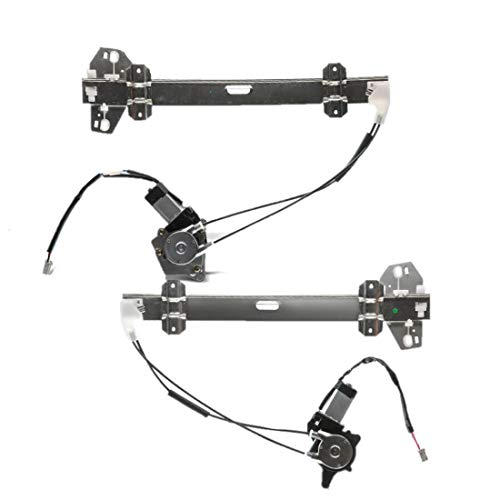 Set of 2 Front Left and Right Power Window Regulator with Motor for Honda Accord 1994-1997 Acura CL 1997 Coupe only