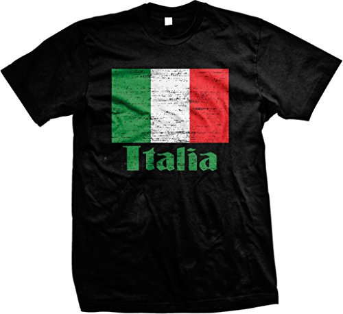 Free Flag of Italy, Italian Flag, il Tricolore Pride Men's T-shirt, NOFO Clothing Co.