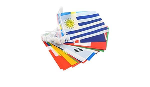 Cikuso Copa del Mundo Top 32 Serie Bandera Banner Internacional ...