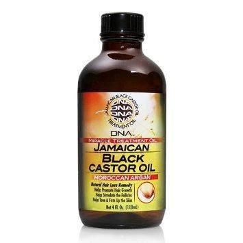 DNA Moroccan Argan Jamaican Black Castor Oil for Hair & Scal