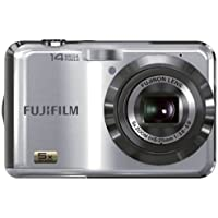 Fujifilm FinePix AX250 14MP 5x Optical/6.7x Digital Zoom HD Camera (Silver) (Certified Refurbished)