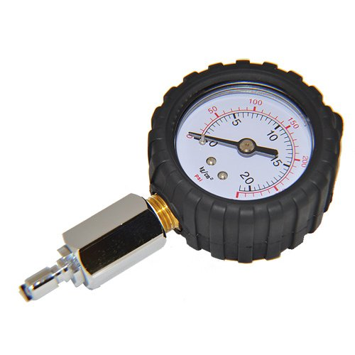 Scuba Choice 2'' Intermediate Pressure Checker Gauge - 300 PSI by Scuba Choice