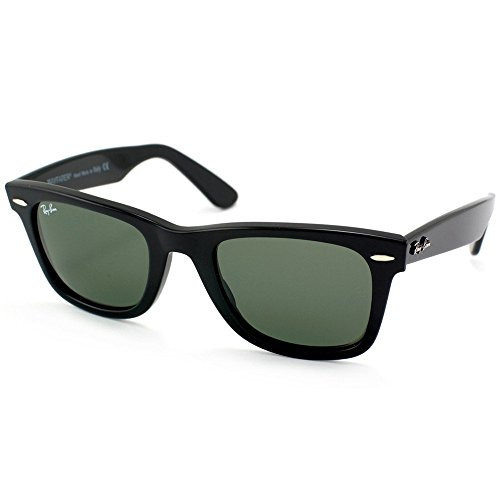 Ray Ban RB2140 901 54 Black Wayfarer Sunglasses Bundle-2 - 54 901 Rb2140