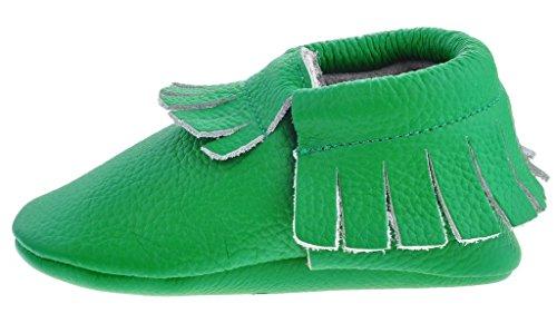 Sayoyo Nette Baby Quaste Lauflernschuhe Leder Krippe Prewalker Schuhe